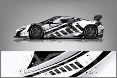 Free Sport Car Racing Wrap Design. Vector Design. - Vector Stock Photography - 145999222