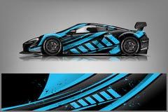 Free Sport Car Racing Wrap Design. Vector Design. - Vector Stock Images - 145999924