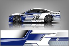 Free Sport Car Racing Wrap Design. Vector Design. - Vector Stock Images - 146001124