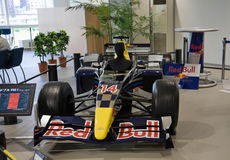 2017 Sport car Red bull. Japan. Sport car Red bull. Japan Exhibition Royalty Free Stock Photos
