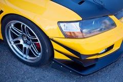 Sport car's headlight Royalty Free Stock Photography