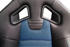 Sport car seat. Close up photo Stock Image
