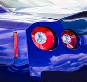 Sport car taillight Royalty Free Stock Images