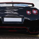 Sport car taillight Royalty Free Stock Image