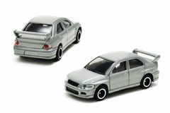 Sport Car Toy (isolated) Stock Images