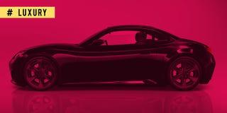 Sport Car Transportation Technology Elegance Concept Stock Image