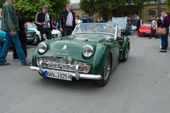Sport car Triumph TR3 Stock Photo