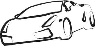 Sport car vector Stock Photo