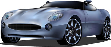 Sport car vector Royalty Free Stock Photography