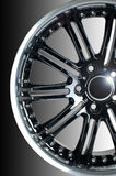 Sport car wheel Royalty Free Stock Photos