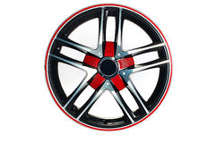 Sport car wheel Royalty Free Stock Photography