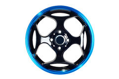 Sport car wheel Stock Images