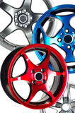 Sport car wheel Royalty Free Stock Image