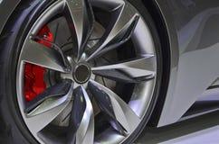 Sport Car Wheel Stock Photo