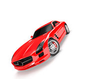 Sport car in a white background Stock Photography