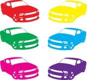 Sport cars Stock Image