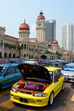 Sport cars exhibition in Merdeka Square. Kuala Lumpur. Malaysia Royalty Free Stock Image