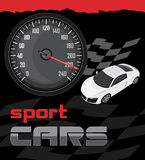 Sport cars. Icon for design Royalty Free Stock Photography