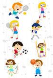 Sport cartoon Royalty Free Stock Image