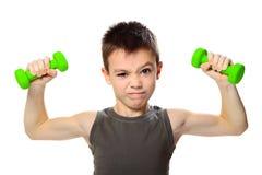 Sport chłopiec Obrazy Royalty Free