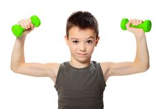 Sport chłopiec Fotografia Stock