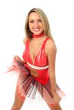 Sport cheerleader Royalty Free Stock Photography