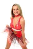 Sport cheerleader Royalty Free Stock Photography