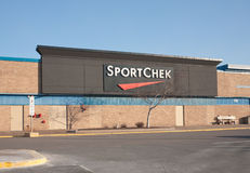 Sport Chek Outlet stock photo