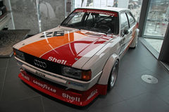 Sport classic Audi car. From Audi Museum in Ingolstadt, Germany Stock Photography