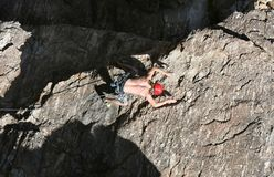 Sport Climbing stock photography