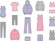 Sport clothes Stock Image