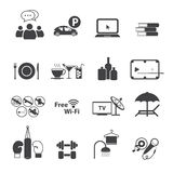 Sport club icons set Royalty Free Stock Photo
