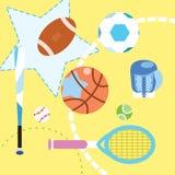 Sport collection set stock illustration