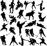 Sport collection vector Royalty Free Stock Photo