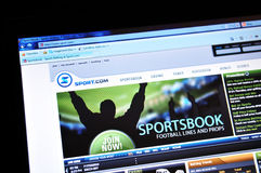Sport.com Royalty Free Stock Photos