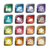 Sport Competition Icons Stock Images