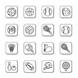 Sport Competition Icons Royalty Free Stock Photography