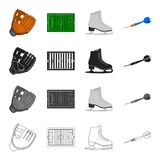 Sport, competitions, attributes and other web icon in cartoon style. Training, win, Olympics, icons in set collection. Sport, competitions, attributes and other Royalty Free Stock Photos