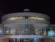 Sport complex Alatau. Astana, old sport complex Alatau stock images