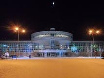 Sport complex. Astana, old sport complex Alatau royalty free stock photo