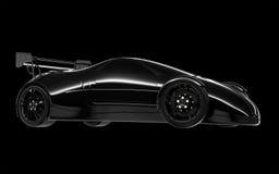 Sport concept car Stock Image