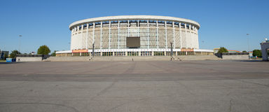 Sport and Concert Complex in Saint-Petersburg. Royalty Free Stock Photography