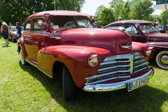 Sport Coupe, 1948 Chevrolets Fleetmaster Stockbilder