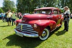 Sport Coupe, 1948 di Chevrolet Fleetmaster Immagine Stock Libera da Diritti