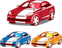 Sport coupe vector Stock Photo