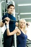 Sport couple Stock Photography