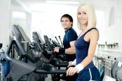 Sport couple Stock Image