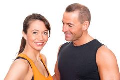 Sport couple Royalty Free Stock Photography