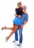Sport couple Royalty Free Stock Images
