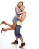 Sport couple Royalty Free Stock Image